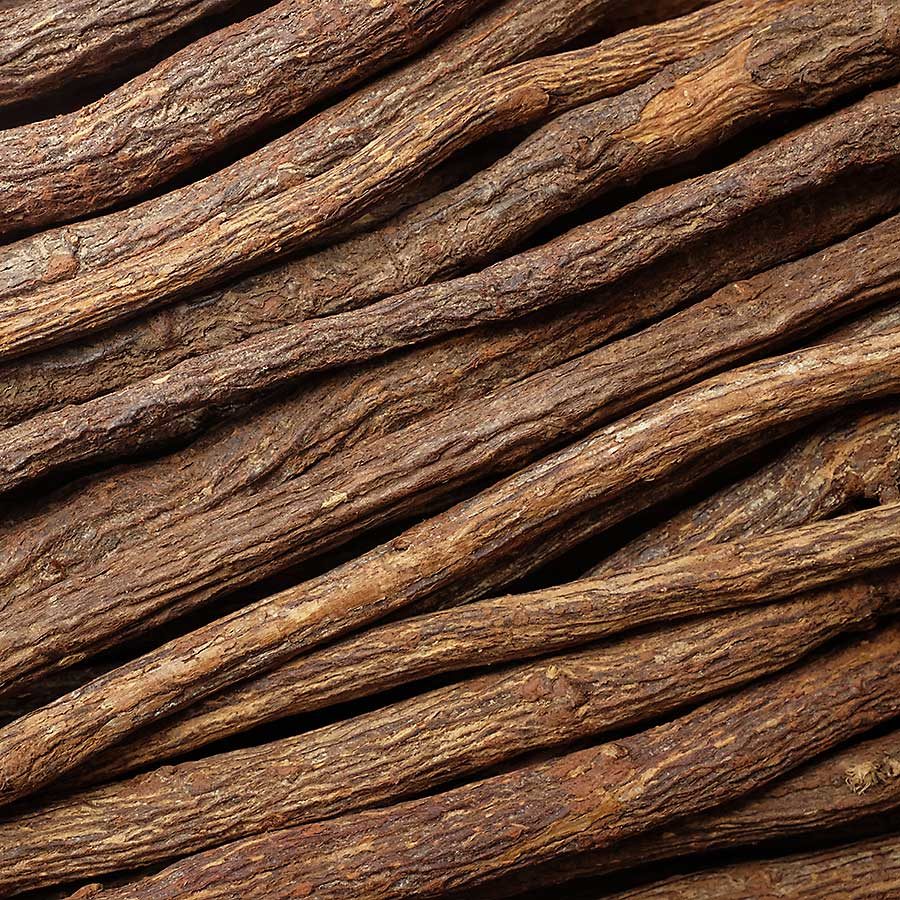 Liquorice root dried