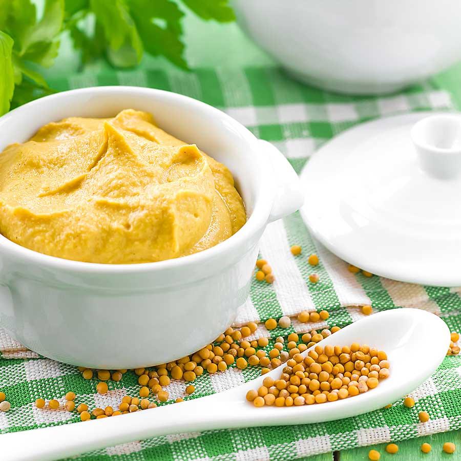 Mustard seed and mustard cream