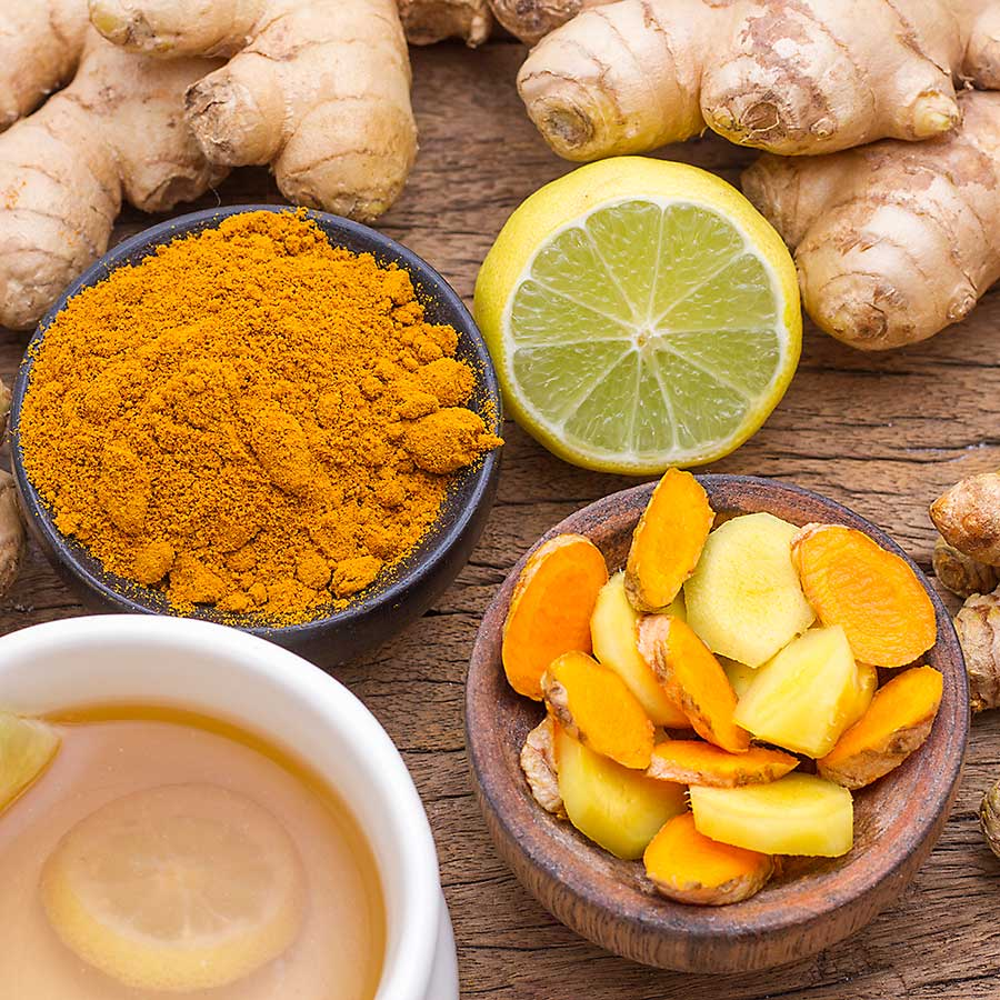 Tumeric - different types
