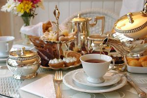 Business high-tea catering