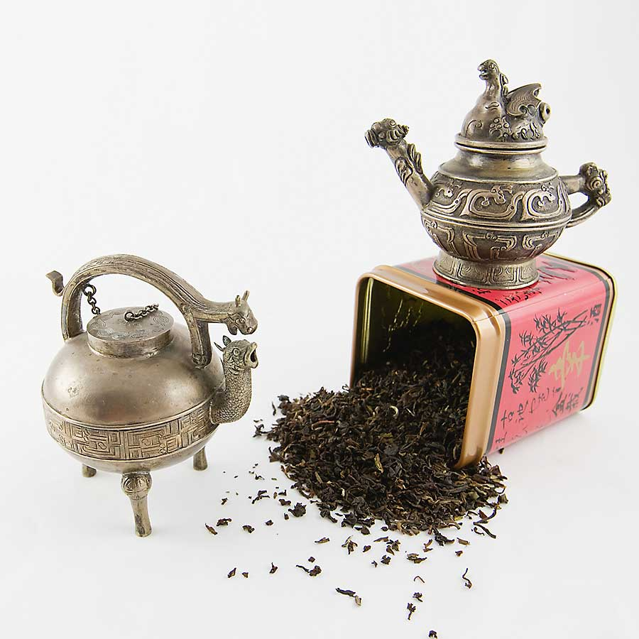 Chinese tea and teapots