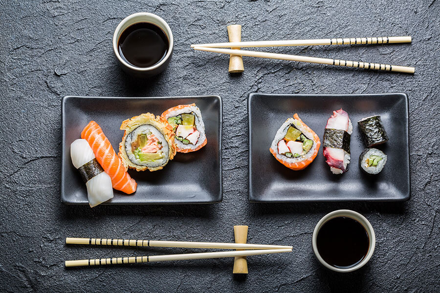 Japanese cuisine for your perfect business lunch