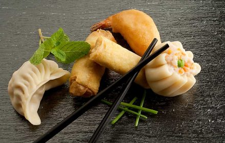 Asian style dumplings