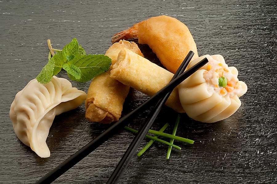 Asian style dumplings