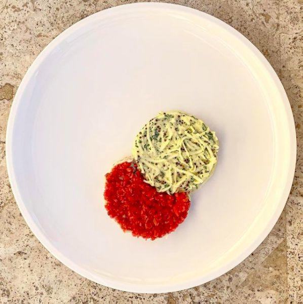 Chef Brendon Walter: Smoked snapper rillette, pickled radish, celeriac, pear remoulade