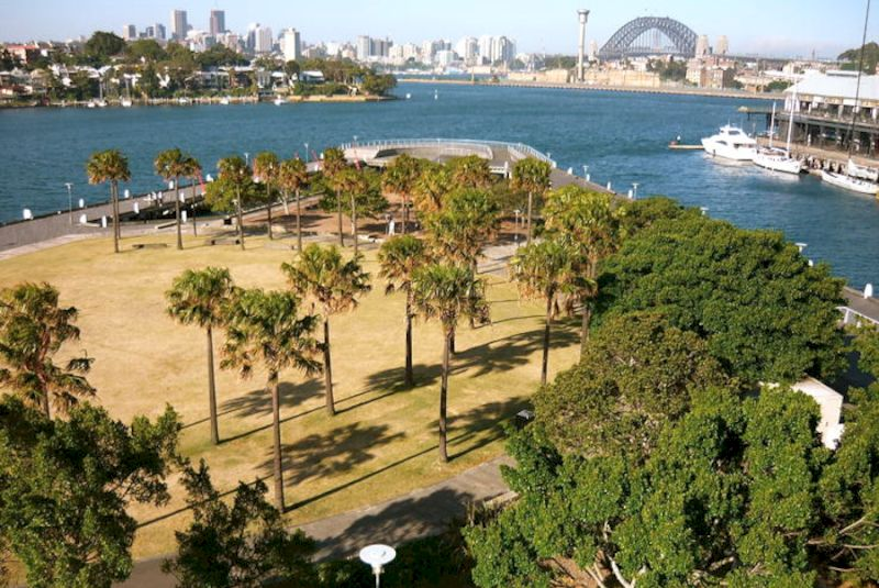 Pirrama Park Sydney Pyrmont harbour view